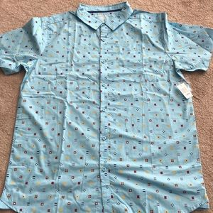 Disney Cruise Line button down shirt